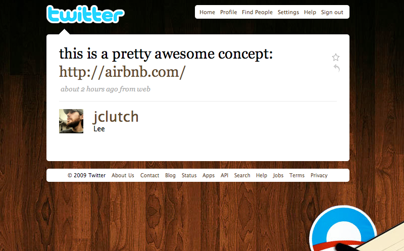 Twitter love: @jclutch Thanks man.