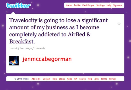 Twitter love: Thanks @jenmaccabegorman!