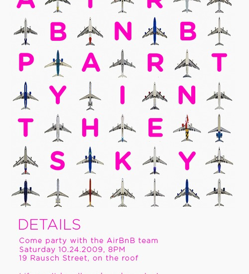 Party in the sky at Airbnb HQ