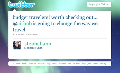 Twitter Love @stephchann