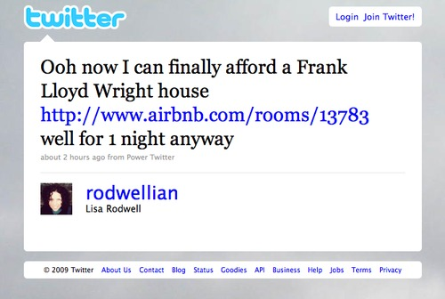 Twitter Love: @rodwellian