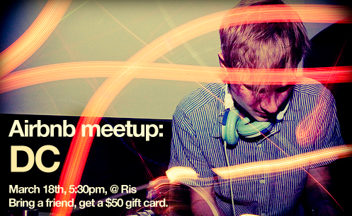 Airbnb DC Meet-Up!