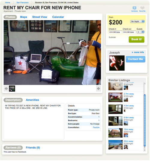 iPhone Mania Hits Airbnb
