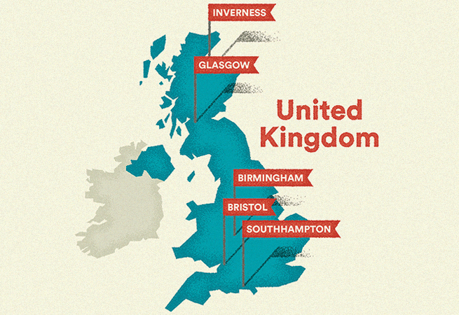 Airbnb Hospitality Index for the UK