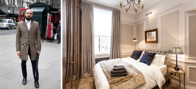 London Fashion Week Airbnb Portobello Market