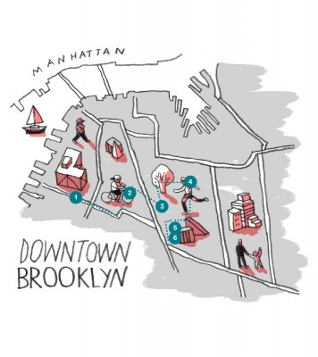 Airbnb Blog Brooklyn by Foot - Downtown Brooklyn