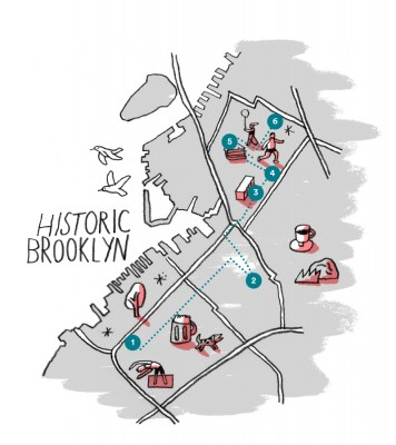 Airbnb Blog Brooklyn by Foot - Historic Brooklyn