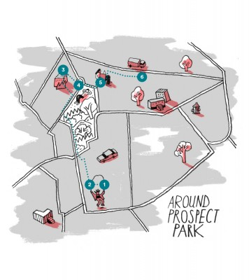 Airbnb Blog Brooklyn by Foot - Around Prospect Park