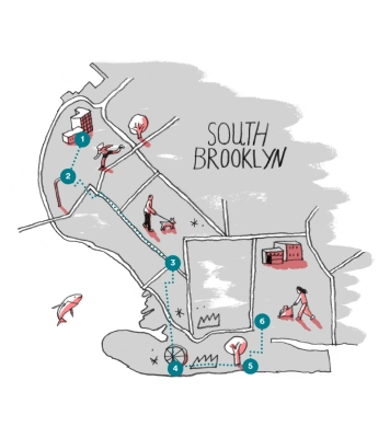 Airbnb Blog Brooklyn by Foot - South Brooklyn