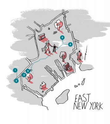 Airbnb Blog Brooklyn by Foot - East New York