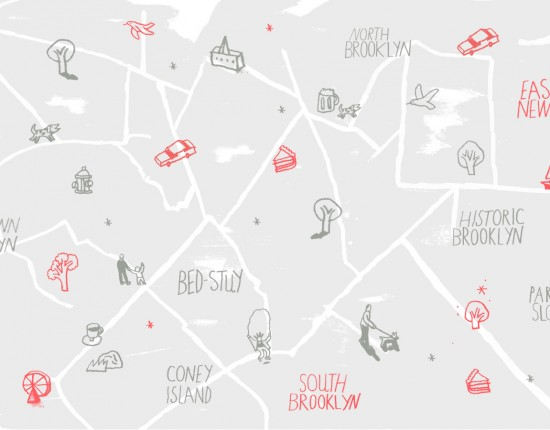 Airbnb Brooklyn by Foot Map