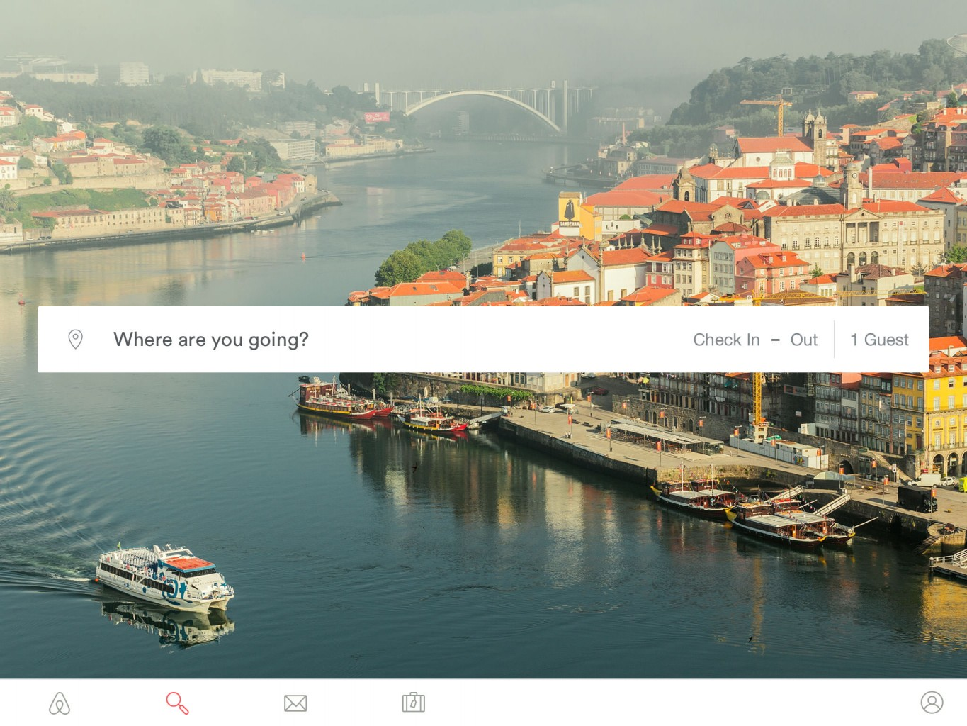 Airbnb tablet app launch
