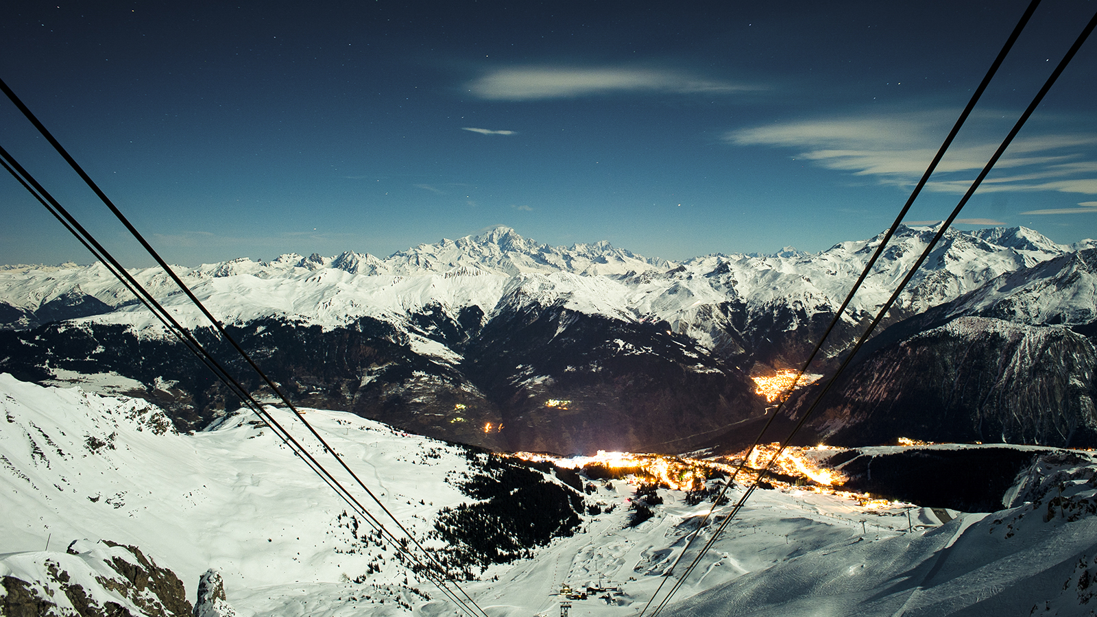 Airbnb Night At Courchevel