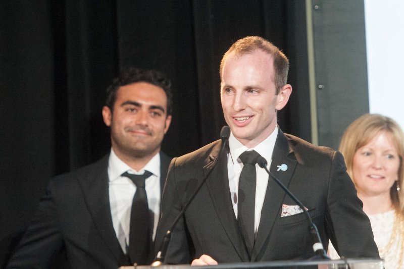 Joe Gebbia discusses our commitment to a world where everyone can belong. Photo Credit: UN Foundation