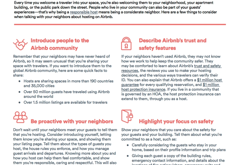 Host-Neighbor Outreach-1 pager