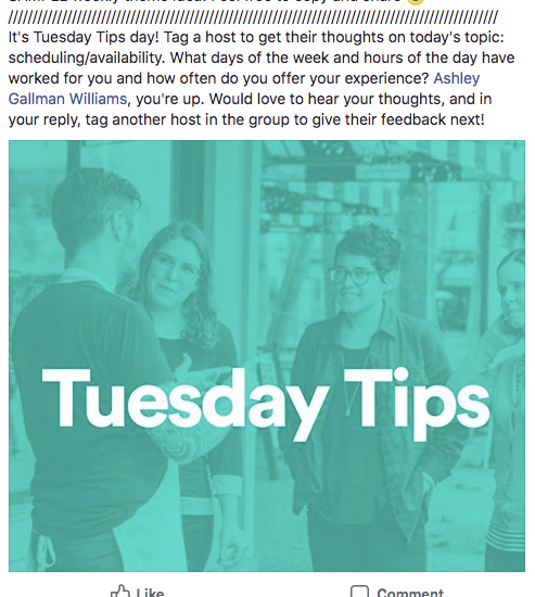 tuesday tips sample