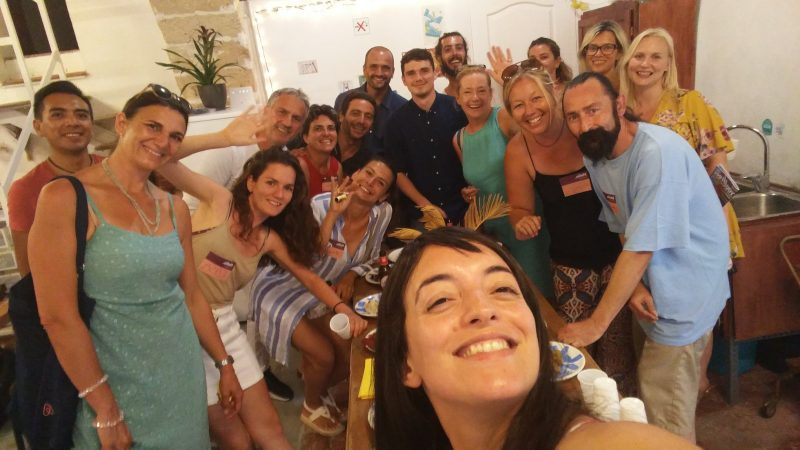 Airbnb Experience meetup in Barcelona