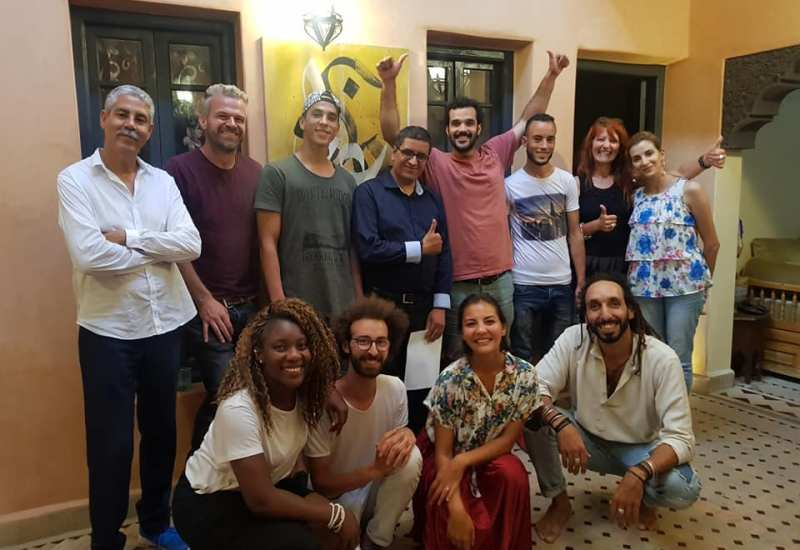 Airbnb Experience meetup in Marrakesh