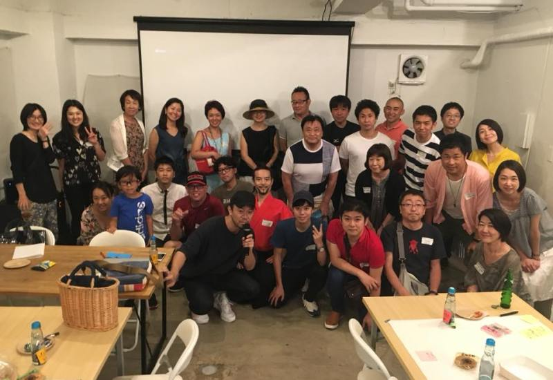 Airbnb Experience community meetup in Tokyo with Kaoru