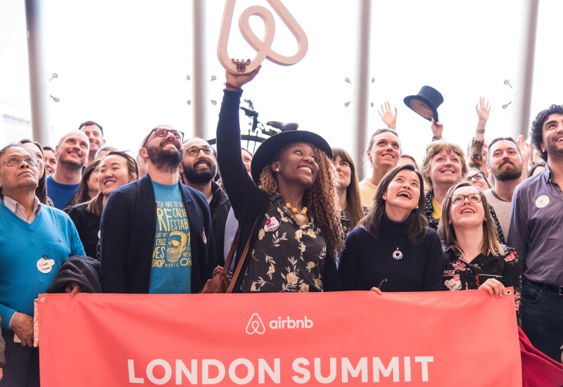 Group of hosts gathered at London Host Summit