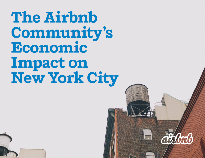 The Airbnb Community's Economic Impact on New York City