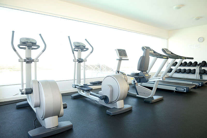Airbnb with gym