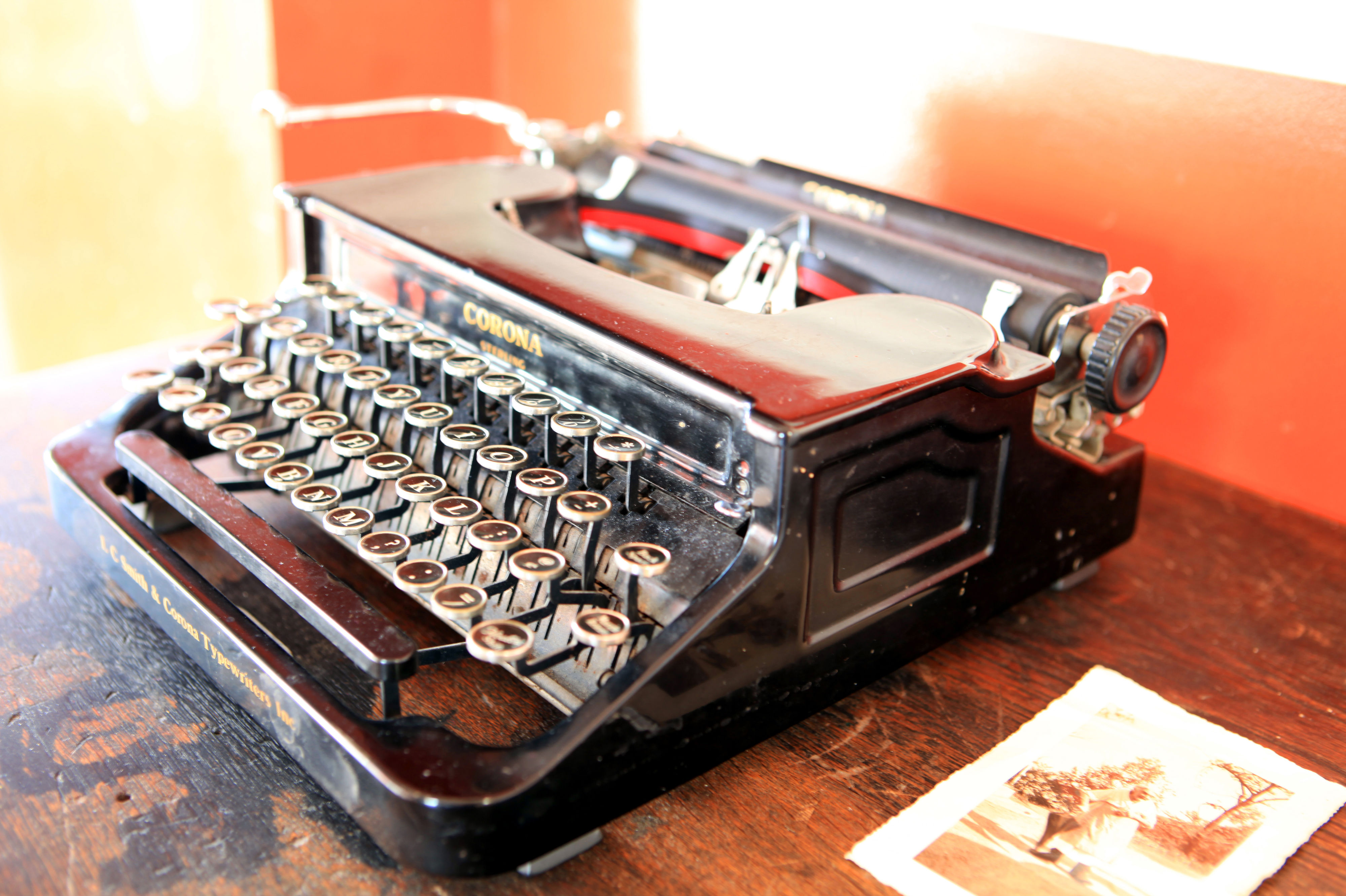 typewriter feature image