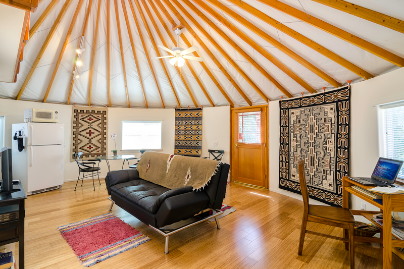 Pimp My Yurt Interior Design For Round Spaces
